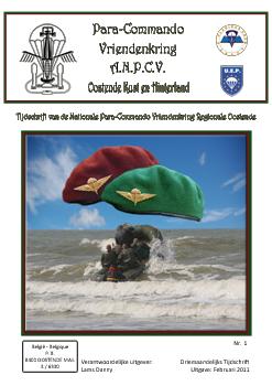 Boekje Para-Commando Oostende