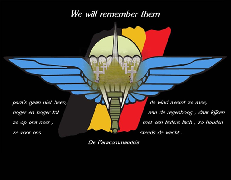 Para's don't die they only fly away...